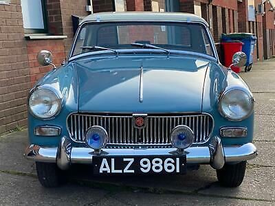 Stunning 1962 Very early MG Midget MK1 GAN1 chassis number, matching numbers car