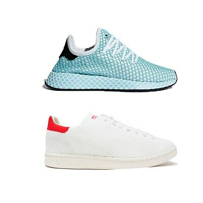 ADIDAS TRAINERS SNEAKERS Stan Smith Mens White Deerupt