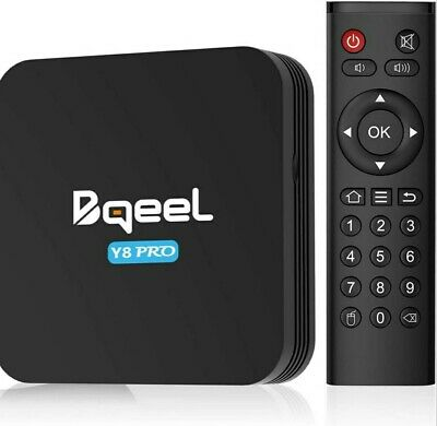Bqeel Android 9.0 TV Box Y8 PRO