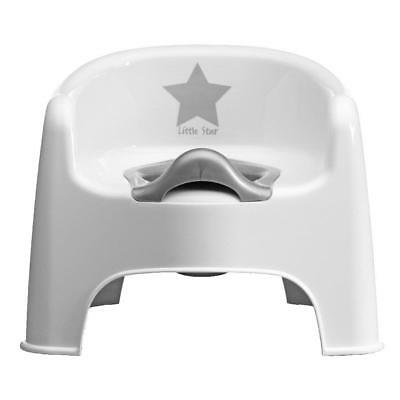 Deluxe Silver Lining Baby Child Potty Chair Little Star New
