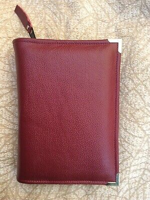Rose  leather  bible cover 4 standard Jehovah's Witness Bible (DLbi12-E)