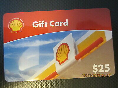 $25 SHELL GAS  trade NO VALUE collect GIFT CARD 1