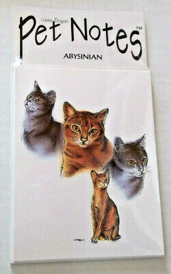 Abyssinian Cat Note Cards
