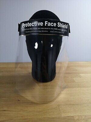 Face Shield Full Face Visor Protection Mask ppe Shield Transparent Clear Plastic