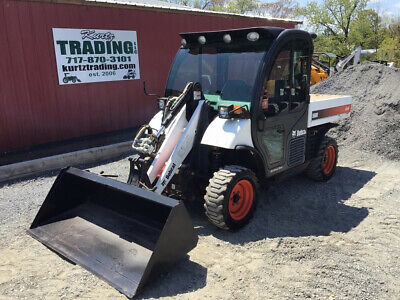 2014 Bobcat 5600 Toolcat 4X4 Diesel Utility Vehicle w/ Cab Loader Only 900Hrs!!