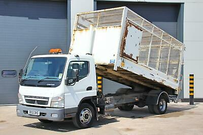 Mitsubishi (2012) Canter 7C18 4X2 Tipper (Manual Gearbox) Day Cab. 3 Seats