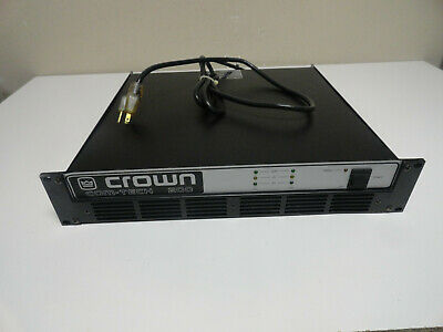 Crown Com-Tech Ct 200 2-Channel 2-Ch Amp Stereo Power Pro Amplifier
