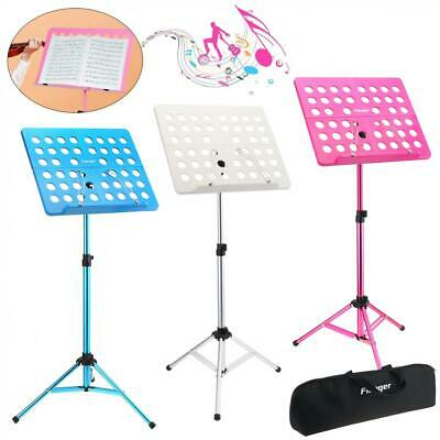 Professional Collapsible Music Stand for Music Sheet, Instrument Books and Bag