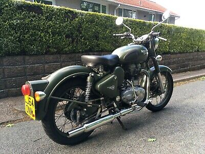 Royal Enfield Classic 500 Efi 2015 Model Low Miles, Battle Green, Good Condition