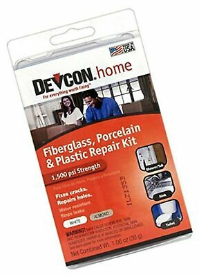 Devcon Epoxy Bathtub Repair Kit (Almond & White) 2 PACK Almond & White