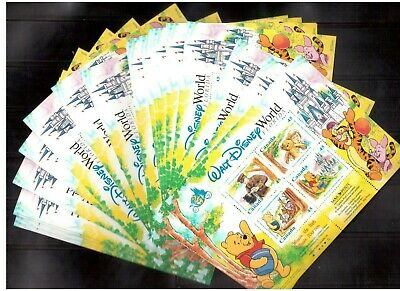 """Canada Face Value Lot Cad $45 (Us$32) 25 Mint Nh """"Winnie The Pooh"""" S/S !!"""