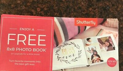 Shutterfly 8x8 Hard Cover Photo Book Coupon Code - Expires 7/31/20