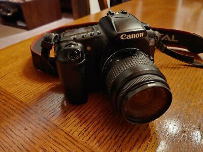 Canon Rebel 20D DSLR with Canon EFs 35-80mm III Lens, battery & charger