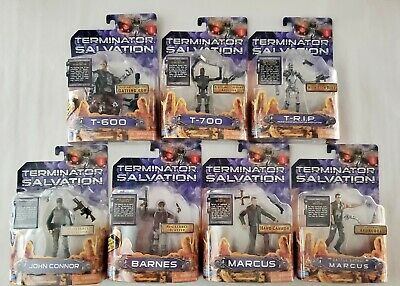 Terminator Salvation Playmates 2009 Action Figures Lot of 7 Basic Series 1