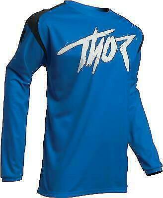 2020 Thor SECTOR LINK Motocross Offroad Race Jersey BLUE Adults S small