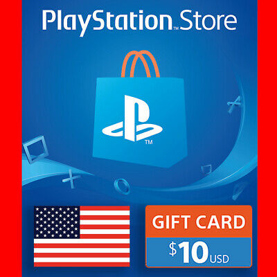 PSN $10 USD [USA] PlayStation Network Store $10 Gift Card 🔥Instant Delivery🔥