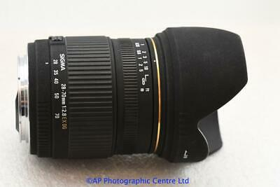 Canon EF fit Sigma EX DG 28-70mm F2.8 Zoom lens EOS GREAT CONDITION