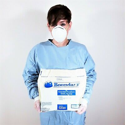 Boundary Extended Procedure Gown, Sealed Sterile Surgical, X-Large GX20