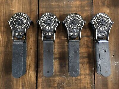 Antique Myers Barn Door Rollers Stay On Vintage