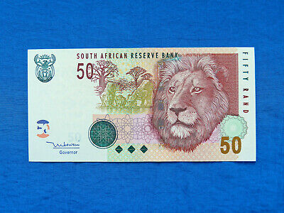 2005 South Africa 50 Rand Banknote *P-130a*         *UNC*