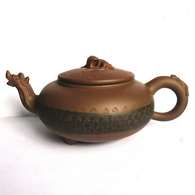 ROC Chinese Yixing Zisha Teapot - Three Beasts 1