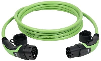 Type 2 to Type 2 3 Phase 32A/400V Electric Vehicle Charging Cable 20 metre long