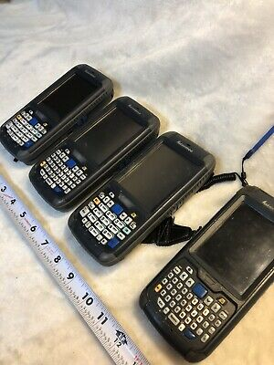 Lot Of 4 Intermec CN70 Handheld Mobile Barcode Scanners 1000CP01 Used