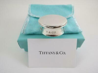 RARE Tiffany & Co Sterling Silver Pill Box Tooth Fairy Trinkets_1837 Collection