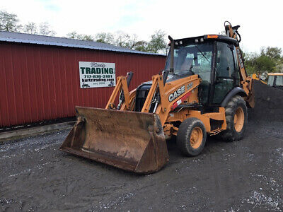 2014 Case 580SN 2wd Tractor Loader Backhoe w/ Cab Extendahoe Only 4000 Hours!!