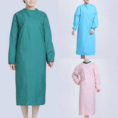 Waterproof Durable Surgeon Suit Scrub Tops Surgical Gown Uniforms Operating Coat