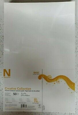 Neenah Creative Collection Cardstock Pack 11X17 50//Pkg-Epic Black