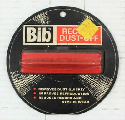 Bib Record Dust-Off Cleaning Brush NEW OLD STOCK