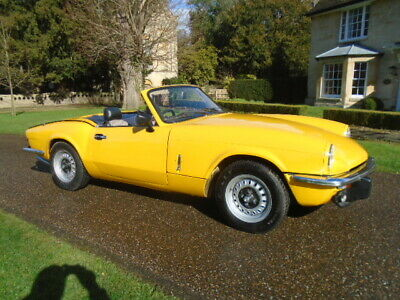 1973 Triumph Spitfire 1300 + Overdrive, New Hood & Wood Dash.