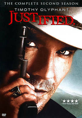 DVD - Justified Complete Second Season 2 - [3 disc set] - Very Good