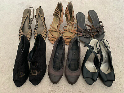 Women's Heeled Shoes Job Lot, EUR 37 UK Shop Size 4, Top Condition, New Look