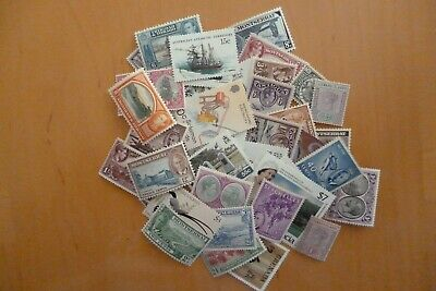 BRITISH Commonwealth 50 Mint Stamps Several High Denominations Excellant Value