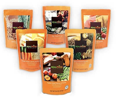 Real Food Blends Pureed Blended Meal (Pack of 12) (Variety Case)