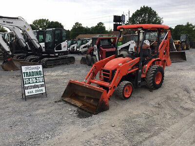 2014 Kubota B26 4x4 Diesel Hydro Compact Tractor Loader Backhoe Only 2000Hrs!!