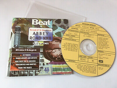 Beat at Abbey Road 1963 -1965 OOP EMI 1997 CD Album The Roulettes Mike Sheridan