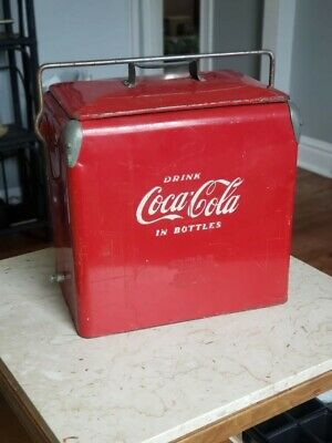 Vintage RARE 1950s Coca Cola cooler by Action Mfg Co
