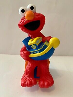 Vintage Sesame Street ELMO Coin Bank by Applause Company 1996