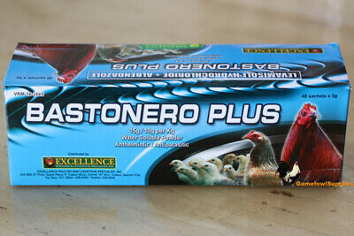 Bastonero Plus (FULL BOX 48 Packs) - Poultry Dewormer - Excellence