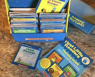 Lot 100 Books Phonics First Little Readers Parent Guide Scholastic  Level B