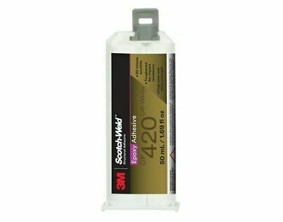 3M  - DP420 Epoxy Adhesive - Off-White, Condition - Is - New