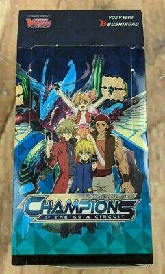 Cardfight!! Vanguard Champions Of The Asia Circuit Extra Booster Box  Lot of 4