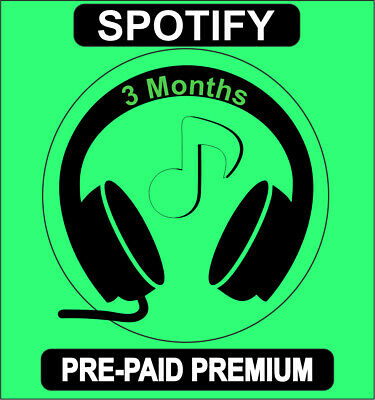 Spotify 3 MONTH FAST DELIVERY - OFFERT LIMIT - 24/7 FAST DELIVERY