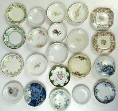 Antique Butter Pat Collection Wholesale Lot T&R Boote Johnson Bros Limoges