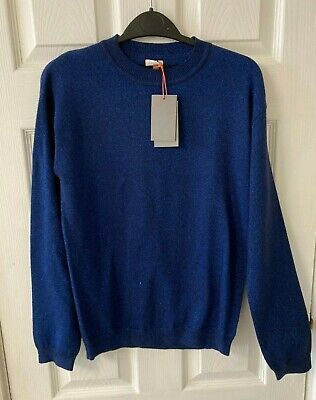 New John Lewis Girls Lurex Jumper, Navy Blue, Age 13, RRP £28