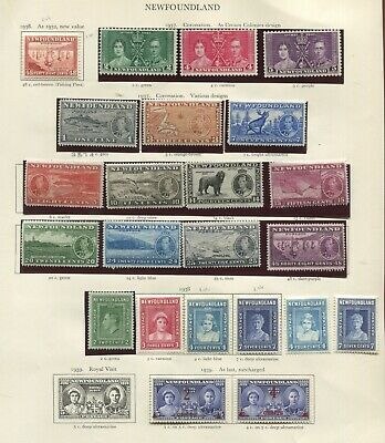 Newfoundland KGVI collection