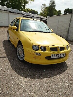 MG ZR yellow, full service history, low mileage.